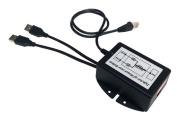 Tycon Systems TP-DCDC-2USB-24 USB Powered 24V Passive POE Inserter - 24V DC