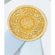 Deluxe Small Business Sales 272-52-15 2.5cm . Medallion Seal Gold