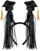 Bulk Buys Grad Cap with Fringe Boppers - Case of 12