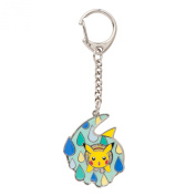 """Pokemon Centre Original Keychain """"What's your favourite number."""" [6]"""