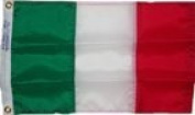 30cm x 46cm Italy Italian Flag Sewn Stripes Boat Flag US Made Ships Fast WindStrong®