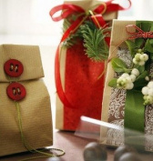Pretty Christmas Beauty gift Bags Hamper - perfect Gift