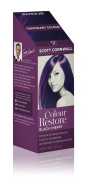 Colour Restore Black Cherry Multiple Use Mid Blonde to Dark Brown Hair Toner - Creates Vibrant Brunette Purple Tones - by Scott Cornwall