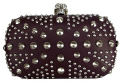 Ladies Women LYDC Designers Branded Faux Leather Studded Union Jack Party Clutch Bag Xmas Gift
