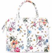 Handbag Bliss Italian Grained Leather Handbag Shoulder Bag