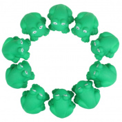 Tonsee® Cute One Dozen Rubber Cute Frog With Sound Shower Favours Baby Toy