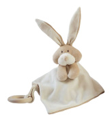 Woolly Organic Soft Toy Bunny Comforter