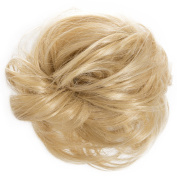 New Scrunchy Bun Up Do Hair Piece Hair Ponytail Extensions Curly 37385 Large Scrunchie-611/KB88
