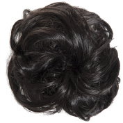 New Scrunchy Bun Up Do Hair Piece Hair Ponytail Extensions Curly 37385 Large Scrunchie-2