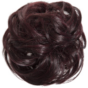 New Scrunchy Bun Up Do Hair Piece Hair Ponytail Extensions Curly 37385 Large Scrunchie-2T118