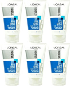 SIX PACKS of L'Oreal Studio Line Fix & Style Multi-Vitamin Gel Very Strong Hold 150ml