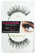 Amazing Shine Human Hair False Eyelashes - 340