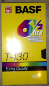 BASF T-130 6 1/2 Hour Extra Quality Blank VHS Tape