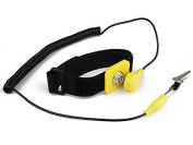iMBPrice® Anti-Static Adjustable Wrist Strap Components Black, Yellow