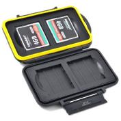 JJC MC-CF4 Rugged Water-Resistant Memory Card Case