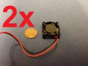 2 Pieces 2510s 5v Cooler Brushless Dc Fan 25 10mm Mini Cooling Radiator E0xc B9