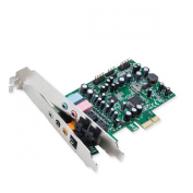 Syba 7.1 Surround Sound PCIe, S/PDIF In & Out CM8828 Chipset Sound Cards SD-PEX63081