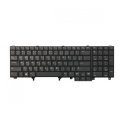 Replacement Keyboard for Dell Latitude E5520 E5520m E5530 E6520 E6530 E6540 Laptop With Pointer and Without Backlight