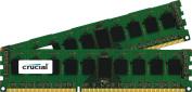 Crucial 16GB Kit (8GBx2) DDR3/DDR3L-1600MT/s (PC3-12800) DR x8 ECC UDIMM Server Memory CT2KIT102472BD160B/CT2CP102472BD160B