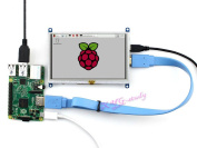 13cm 800*480 Resistive Touch Screen HDMI interface custom Raspbian LCD mini PC Supports Raspberry Pi (Pi 2) Model B B+ A+ & BeagleBone Black & Banana Pi / Banana Pro @XYG