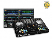 Native Instruments Traktor Kontrol S2 Mk2 DJ Controller with 1 Year Free Extended Warranty