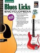 Alfred 00-18503 Blues Licks Encyclopaedia - Music Book