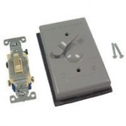 Bell Weatherproof 5141-5 3 Way 1 Gang Switch Lever