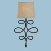 Candice Olson 8605-1W Rhythm Wall Sconce In Oil Rubbed Bronze