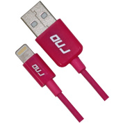 RND Accessories Apple Certified Lightning To USB 1m Data Sync And Charge 8-Pin Cable - Pink