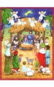 SELL ADV493 Sellmer Advent - Nativity Child Card