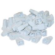 Cable Wholesale RJ45 Strain Relief Boots White 50 Pieces Per Bag