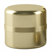 Tatara Group JW1H NuSteel Jewel Gold Finish Cotton Jar