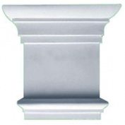 Ekena Millwork CAP08X07X02TR 21cm . W x 20cm . H Architectural Traditional Capital - Fits Pilasters up to 13cm . W x .160cm . D