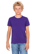 Bella 3001Y Youth Jersey Short Sleeve Tee - Team Purple YL