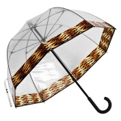 Elite Rain Frankford RF01-TG Premium Fibreglass Bubble Umbrella Tiger Trim