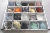 AzureGreen GFMIX20 Flat Of 20 Large Stones And Crystals