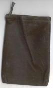 AzureGreen RV46BK 10cm . x 14cm . Bag Velveteen - Black