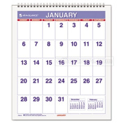 At-A-Glance PM528 Mini Monthly Wall Calendar 17cm . x 19cm . White 2014