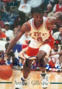 Autograph Warehouse 100700 Antoine Gillespie Autographed Basketball Card Utep 1995 Classic Rookie