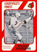 Autograph Warehouse 101891 Wilbur Summers Football Card Louisville 1989 Collegiate Collection No. 111