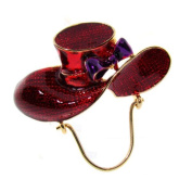 DDI 670461 Red Hat Pin with Eye Glass Holder Case Of 3