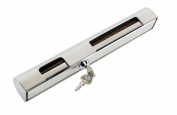 Amarine-made Stainless Steel Hi-security Outboard Motor Lock Heavy Duty , Brass Lock