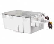 Amarine-made Boat Marine Shower Sump Pump Drain Kit System Shower Pump System - 12v - 750 GPH - Multi-port Inlet