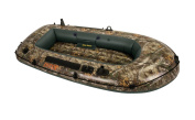 68340EP Intex Realtree Camouflage Seahawk 2 Inflatable Boat w Two Fishing Rod Holders