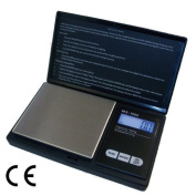 Black Digital Pocket Weighing Scales 100 g Capacity 0.01 g Accuracy [version:x8.6] by DELIAWINTERFEL