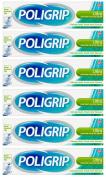 Poligrip Ultra Denture Fixative Cream 40g - Pack of 6