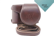 Zenness Protective PU Leather Camera Case, Bag for Sony a5100/a5000 with 16-50mm Lens