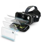 SainSonic VR Helmet 3D Magic Mirror Vitual Reality Glasses for 8.9cm - 15cm , for all Smartphone