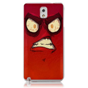 Xtra-Funky Range Samsung Galaxy Note 3 Crazy Cartoon Googly Eyes Hard Plastic Case Cover - Angry
