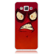 Xtra-Funky Range Samsung Galaxy A5 Crazy Cartoon Googly Eyes Hard Plastic Case Cover - Angry
